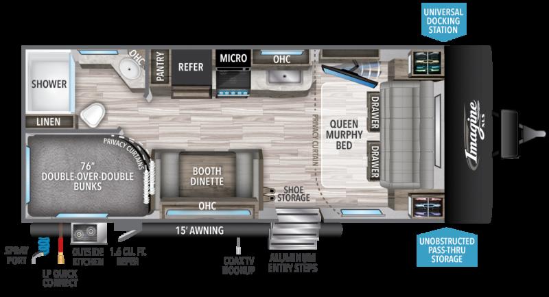 2021 Grand Design RV IMAGINE XLS 21BHE