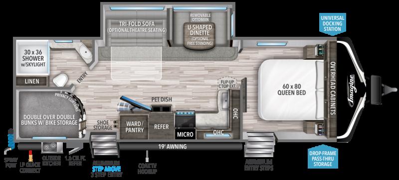 2022 Grand Design RV IMAGINE 2800BH