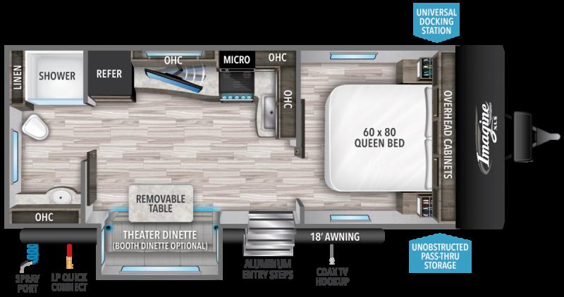2022 Grand Design RV IMAGINE XLS 22RBE
