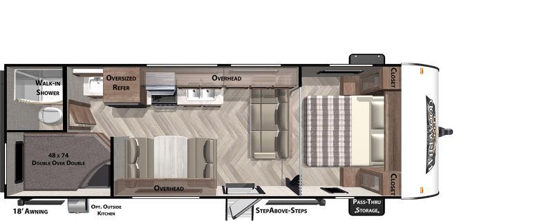 2021 Forest River WILDWOOD X-LITE 261BHXL