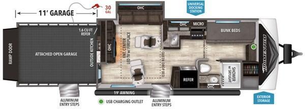 2021 Grand Design RV MOMENTUM G-CLASS 29GO