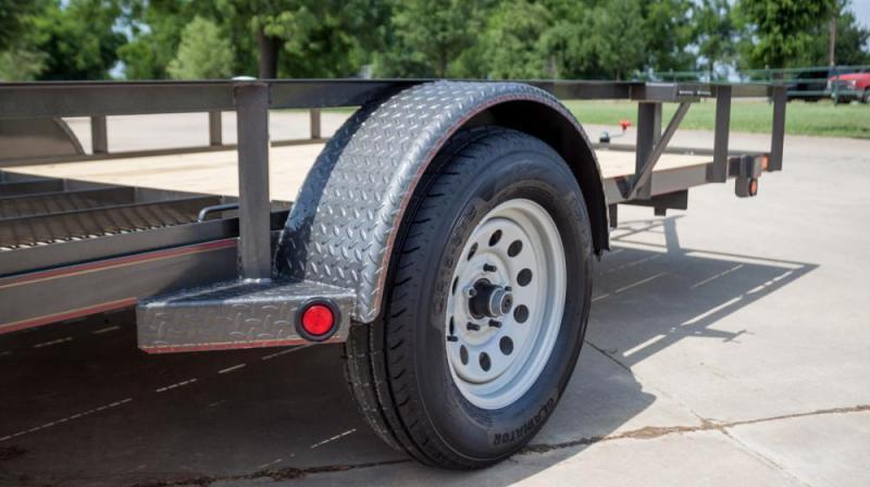 2022 MAXXD S3X7712 - Angle Single Axle Utility Trailer Utility Trailer