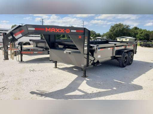 "2021 MAXXD 16'X83"" GN Dump Trailer  ******HAVE EVERY SIZE YOU MAY NEED IN STOCK******"