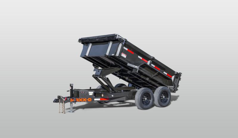 "2022 MAXXD D7X7212- 12' X 72"" - 4.67 CU/YD Dump Trailer"
