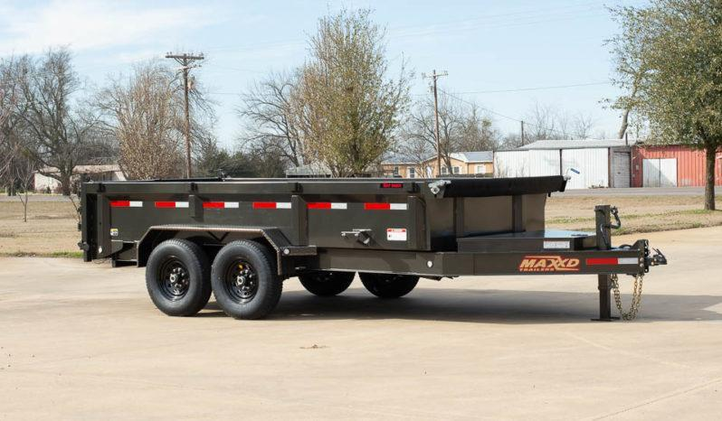 "2021 MAXXD 16'X83"" Dump Trailer   ******HAVE EVERY SIZE YOU MAY NEED IN STOCK******"