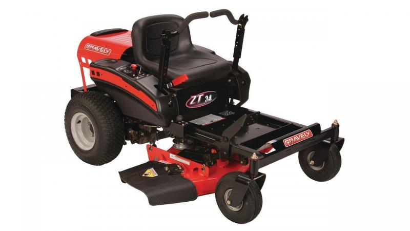 2018 Gravely ZT 34 Equipment/ Zero Turn Mower