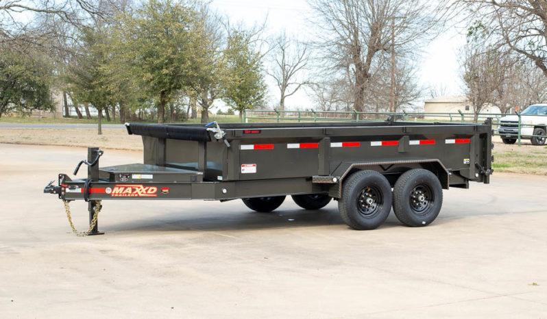 """2021 MAXXD 14'X83"""" Dump Trailer   ******HAVE EVERY SIZE YOU MAY NEED IN STOCK******"""