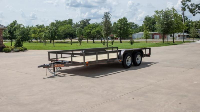 "2021 MAXXD 16'X83"" Utility Trailer   ******HAVE EVERY SIZE YOU MAY NEED IN STOCK******"