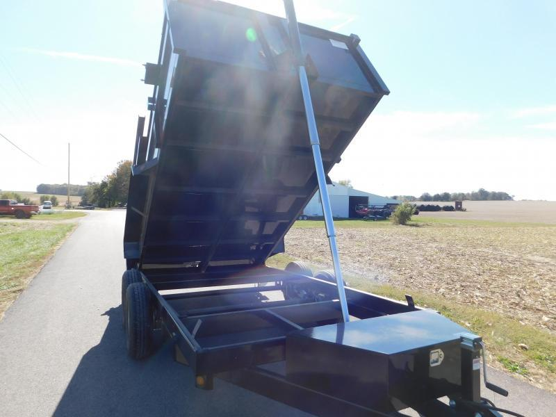 "2021 Quality Steel and Aluminum 83""x12' 12K Dump Trailer"