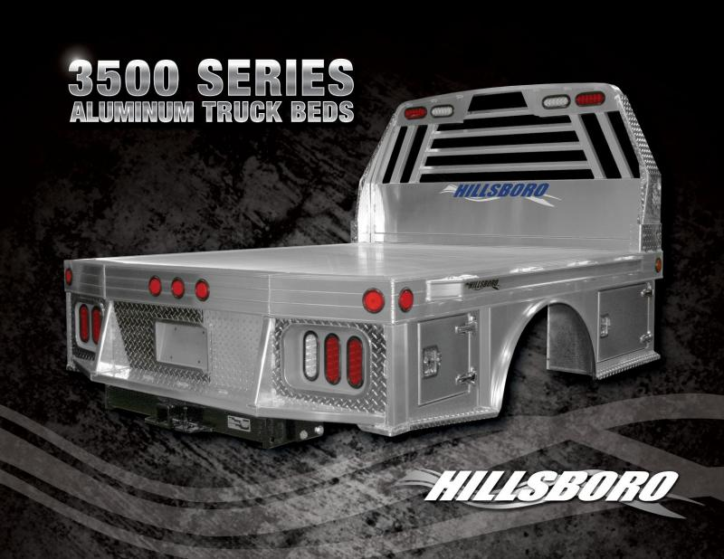 "2020 Hillsboro Industries 96""X102"" Aluminum 3500 Series Ford/Chevy Truck Bed"