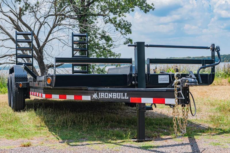 "2021 Iron Bull 83""x18' 14K Equipment Trailer"