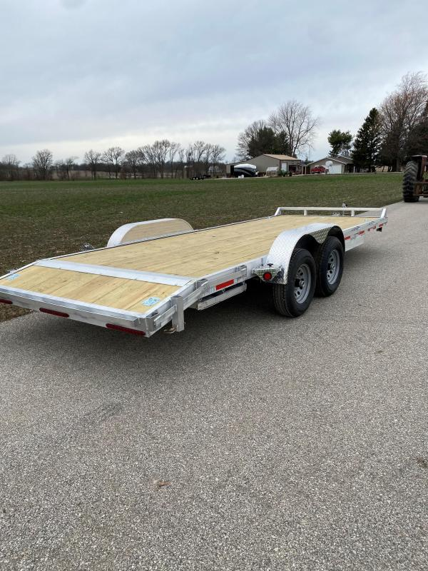 "2022 Quality Steel and Aluminum 83""x20' 10K Aluminum Car / Racing Trailer"