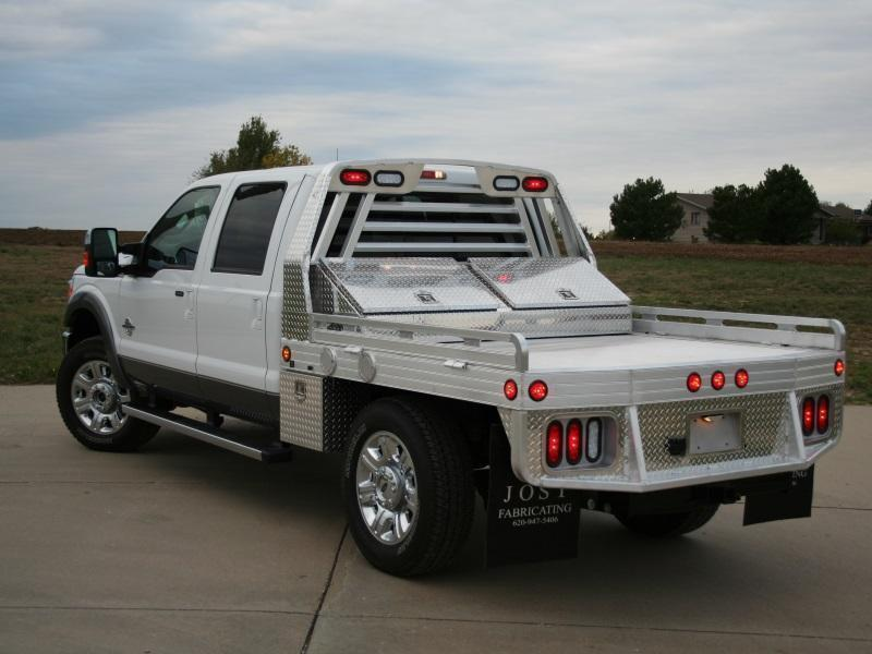 "2016 Hillsboro 3000 Series Aluminum Truck Bed 8' x 7'2"""