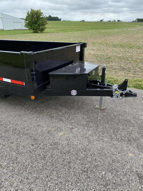2022 Quality Steel and Aluminum 6' x 10' 7K Dump Trailer