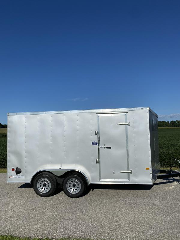 2021 American Hauler 7'x14' 7K Arrow Cargo Trailer
