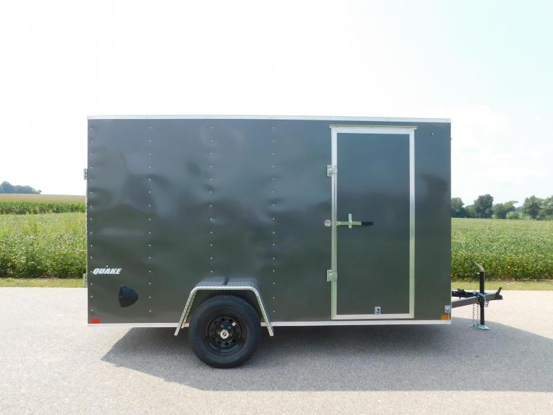 2021 Impact Trailers 6'x12' Quake Series Enclosed Cargo Trailer