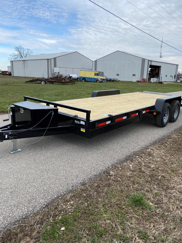"2022 Quality Steel and Aluminum 83""x20' 10K Tilt Car / Racing Trailer"