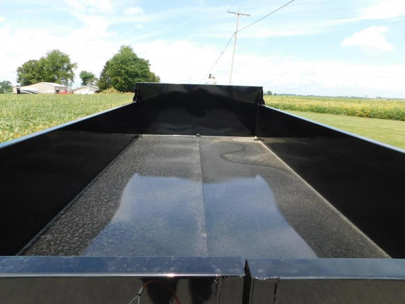 "2022 Quality Steel and Aluminum 83""x14' 14K Dump Trailer"