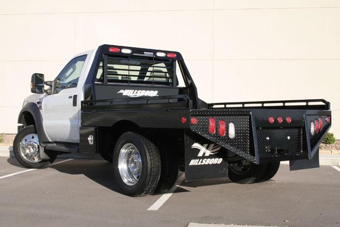 "2021 Hillsboro Industries 80""x84"" Ford Single Wheel Short Bed GII Series Truck Bed"