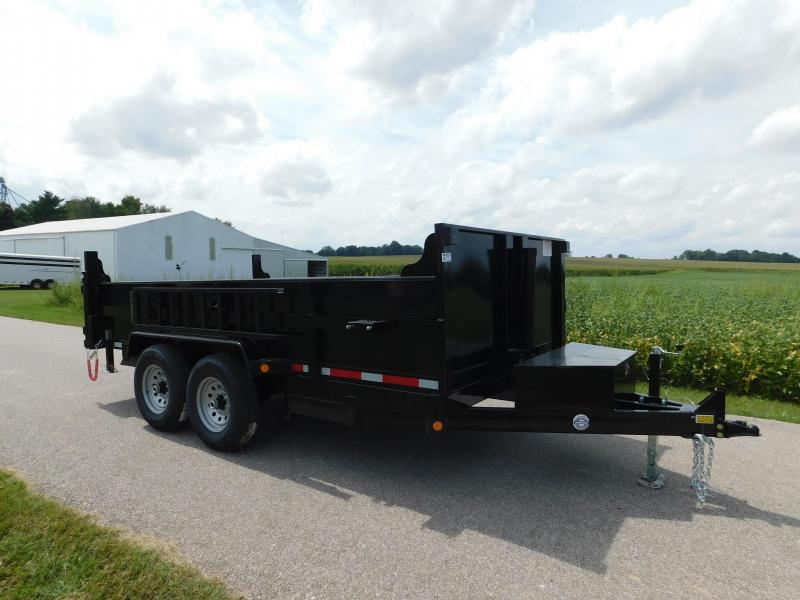 "2021 Quality Steel and Aluminum 83""x14' 14K Dump Trailer"