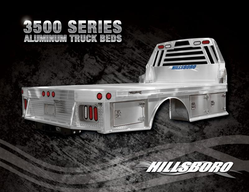 "2020 Hillsboro Industries 96""X112"" Aluminum 3500 Series Truck Bed"