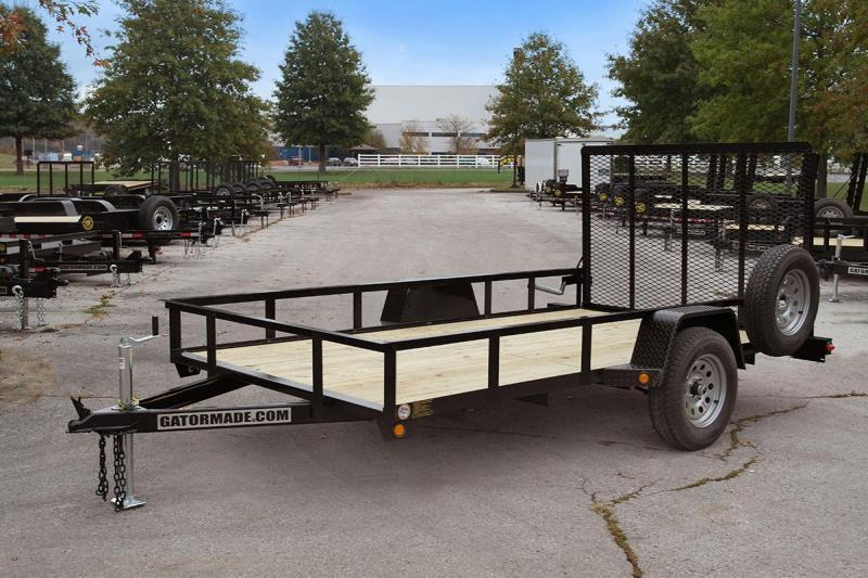 "2020 Gatormade Trailers 6'4""x14' Utility Trailer"
