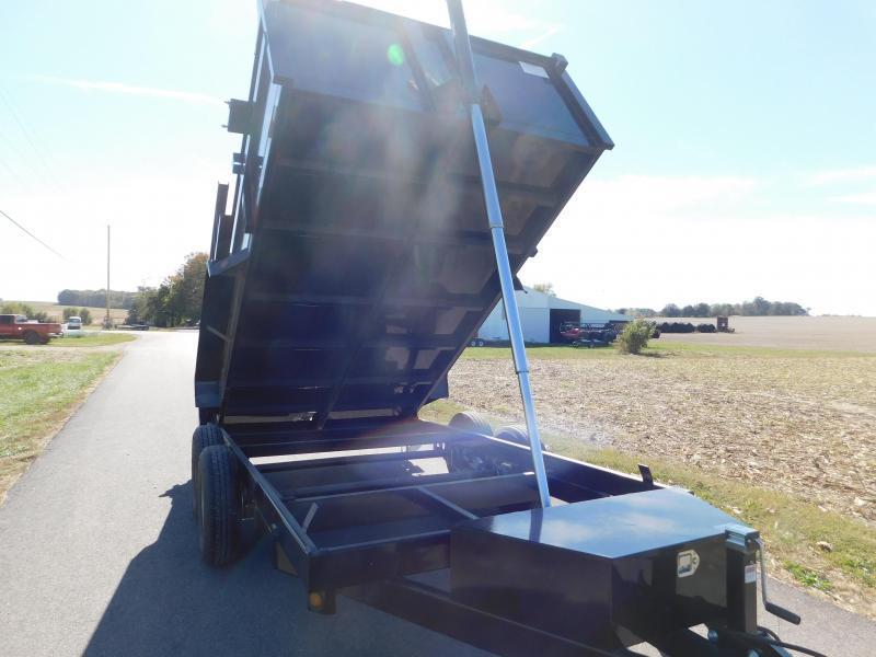 "2021 Quality Steel and Aluminum 83""x16' 14K Dump Trailer"