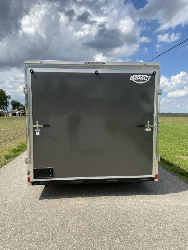 2021 Impact Trailers 8.5'x22' 10.4K Shockwave Enclosed Cargo Trailer