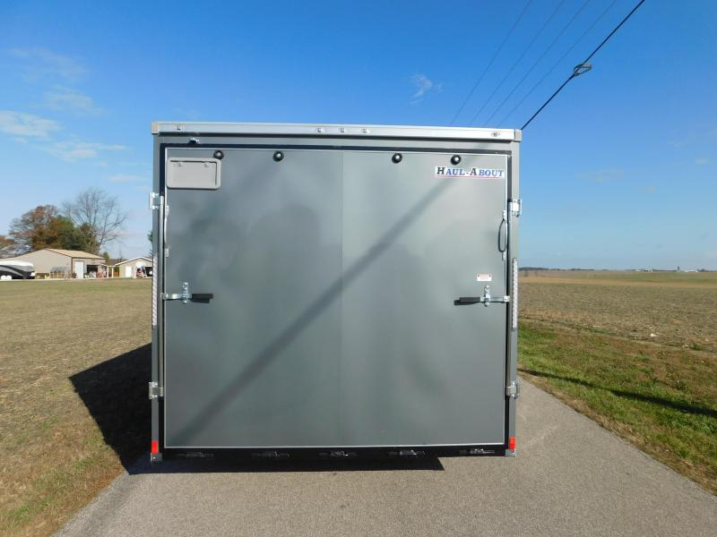 """2020 Haul-About 8'6""""x20' 10.4K Cougar Enclosed Cargo Trailer"""