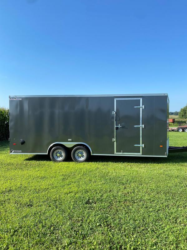 """2021 Haul-About 8'6""""x20' 10.4K Cougar Enclosed Cargo Trailer"""