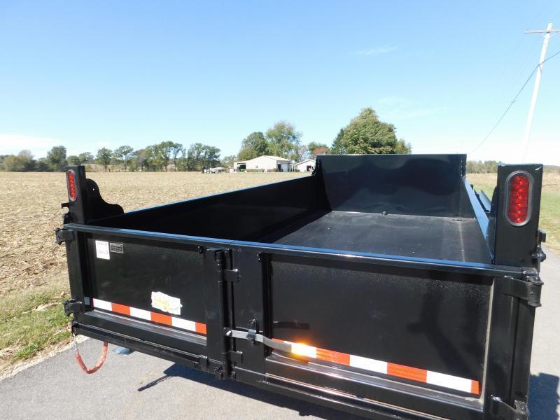 "2022 Quality Steel and Aluminum 83""x12' 12K Dump Trailer"