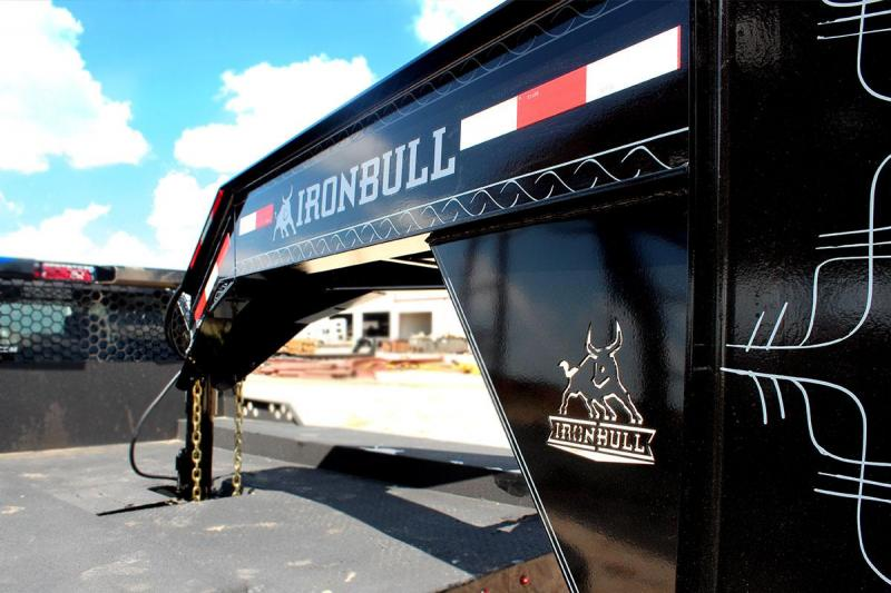 """2020 Iron Bull 102""""x32' 22K Hydraulic Dovetail Equipment Trailer"""