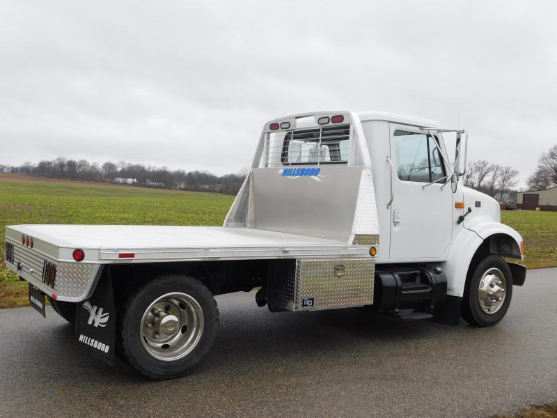 2021 Hillsboro Industries 7'x7' All Model Single Wheel Short Bed 2000 Serie Truck Bed