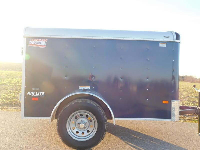 2018 American Hauler Air Lite ALC58SA Enclosed Cargo Trailer
