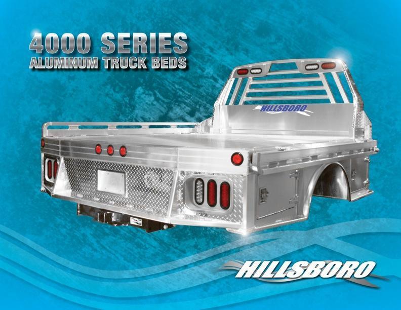 "2020 Hillsboro Industries 96""x112"" 4000 Series Aluminum Truck Bed"