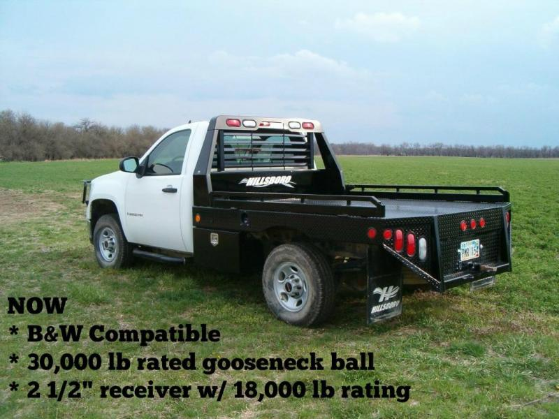 """2021 Hillsboro Industries 8'x8'6"""" GII Series Ford Dually Long Bed Truck Bed"""
