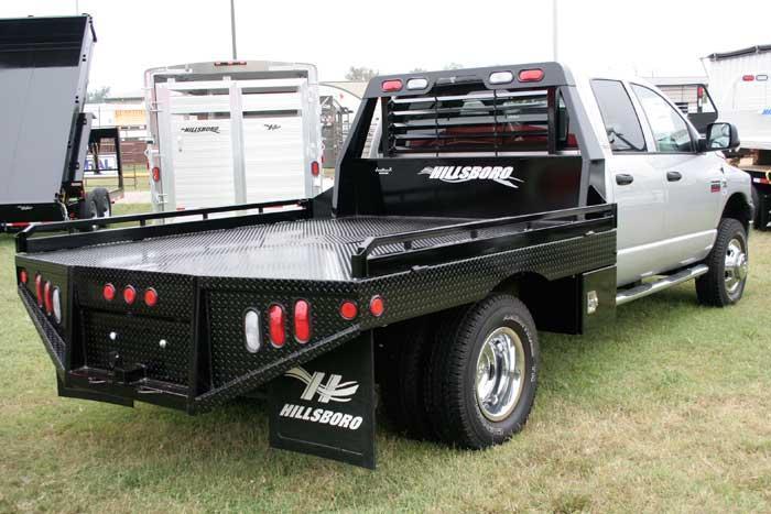 "2021 Hillsboro Industries 80""x84"" Ram Single Wheel Short Bed GII Series Truck Bed"