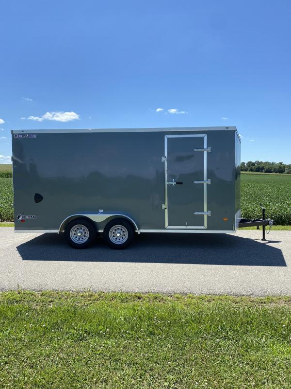 2020 Haul-About Cougar 7'x16' Enclosed Cargo Trailer