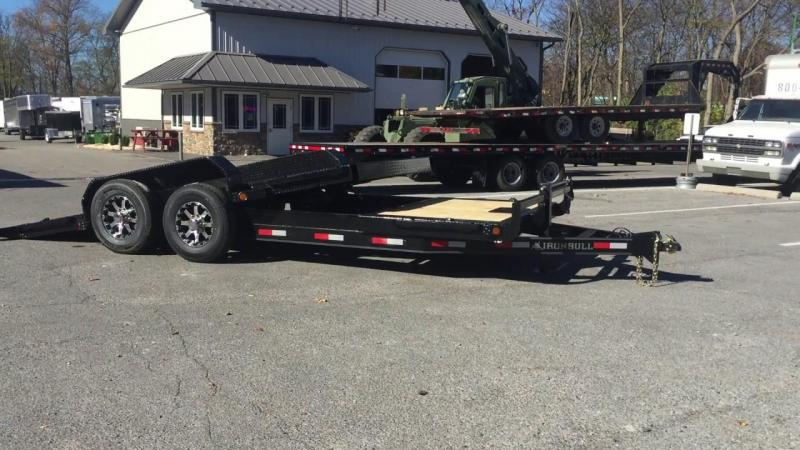 "2020 Iron Bull 83""x20' Tilt Equipment Trailer"