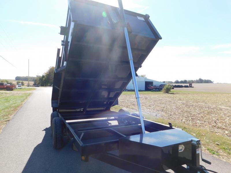 "2022 Quality Steel and Aluminum 83""x16' 14K Dump Trailer"