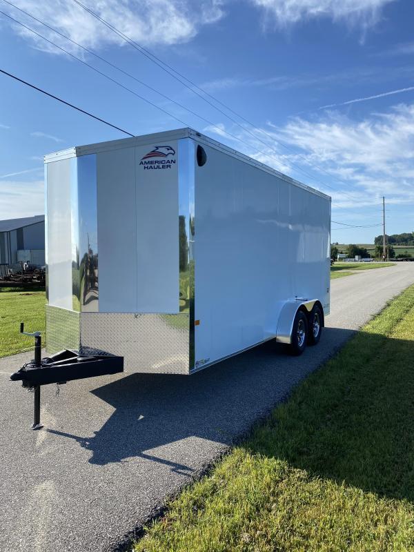 2021 American Hauler 7'x18' 10K Night Hawk Enclosed Cargo Trailer