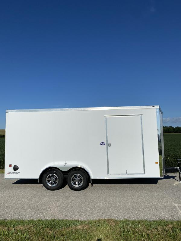 2021 American Hauler 7'x18' 10K Night Hawk Enclosed Cargo Trailer