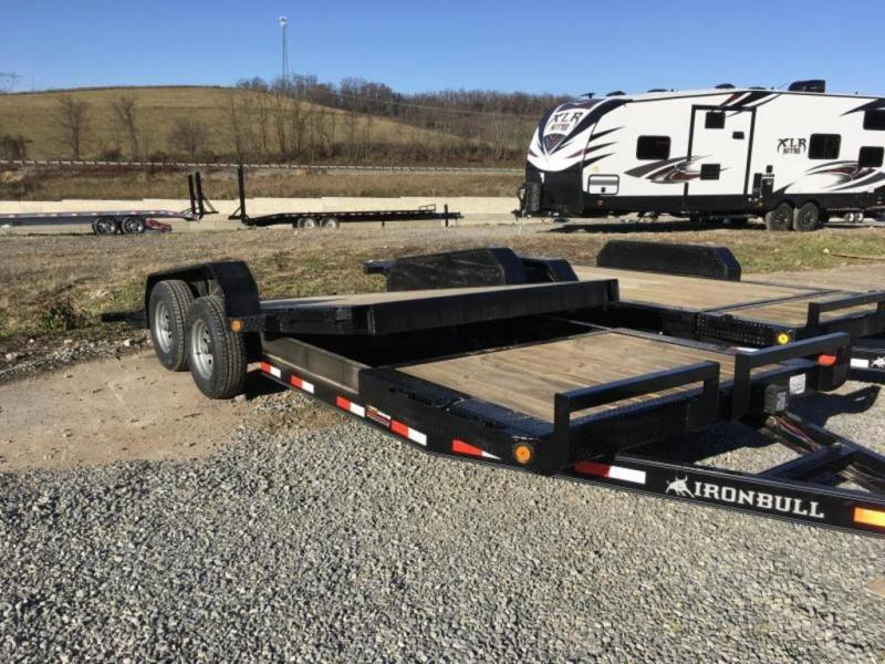 2019 Iron Bull TLB14 22' Tilt Equipment Trailer