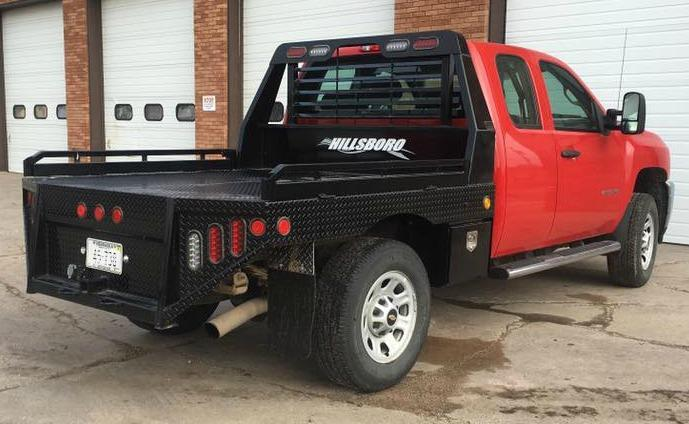 """2021 Hillsboro Industries 96""""x112"""" Cab & Chassis GII Series Truck Bed"""