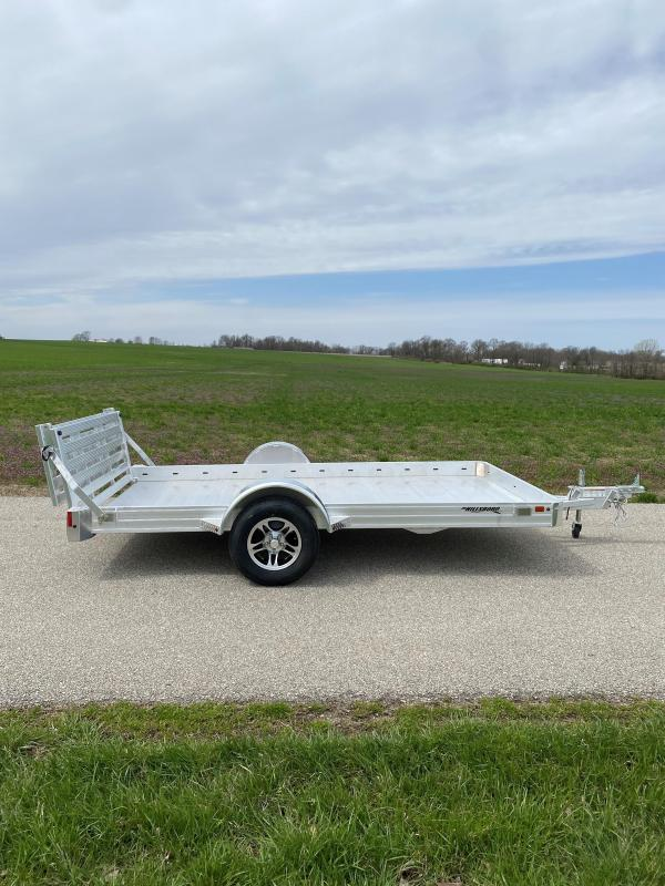 """2022 Hillsboro Industries 78""""X14' Aluminum Utility Trailer"""