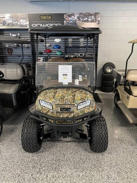 2021 Club Car Onward lifted 4 Passenger Golf Cart