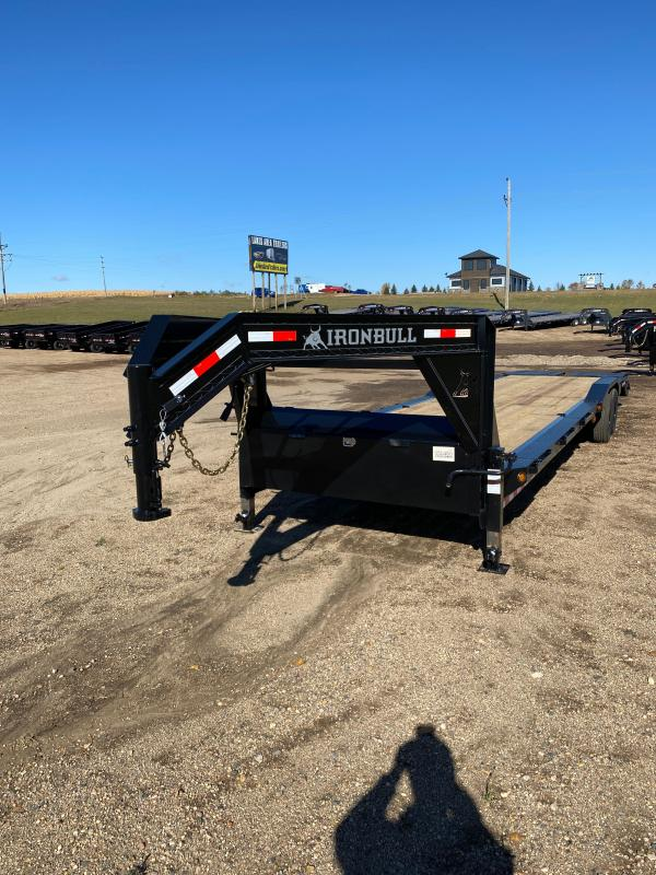 2021 Iron Bull 102X36TA GOOSE Equipment Trailer