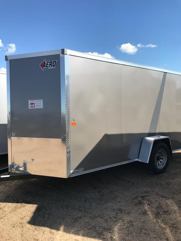 2021 6X12SA PEWTER Cargo/Enclosed Trailer