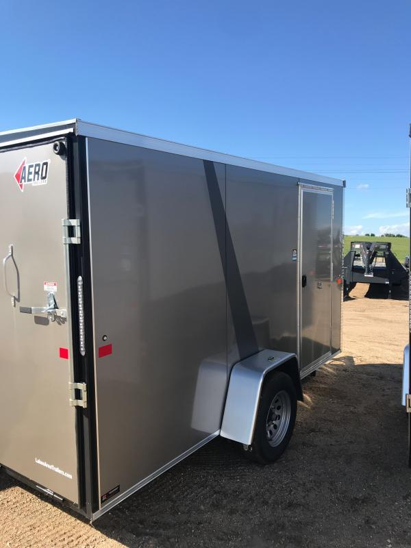 2021 6X12SA PEWTER Cargo/Enclosed Trailer
