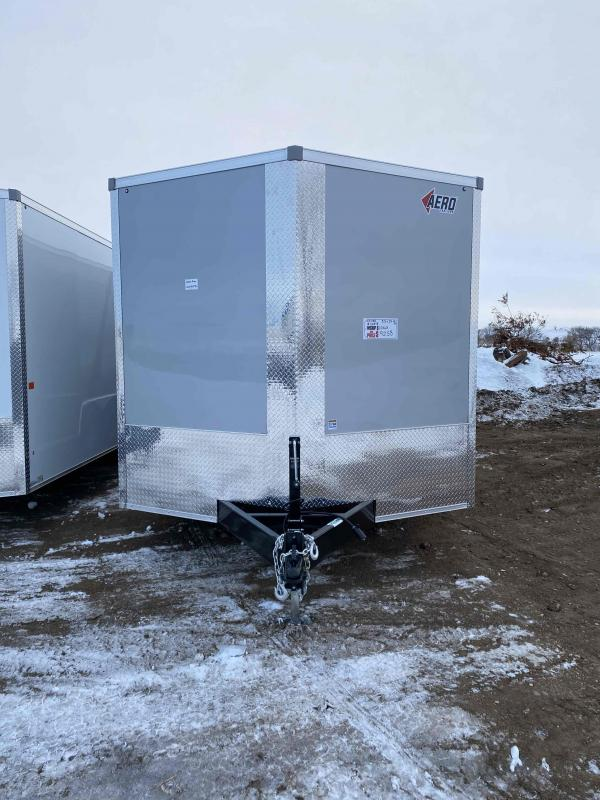 2021 AERO 8.5X24TA52 SILVER Enclosed Cargo Trailer